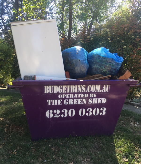 Skip Bin Canberra - How NOT to pack a bin